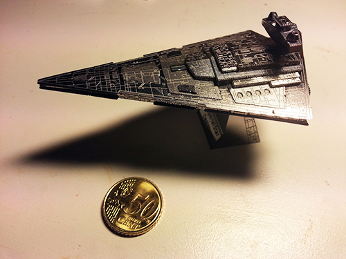 Star Destroyer pienoismalli